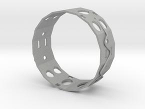 Gold Ear Ring in Aluminum
