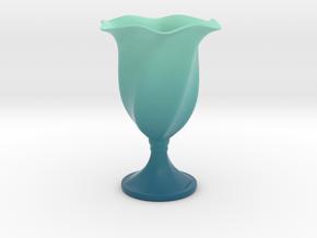 Goblet in Matte Full Color Sandstone