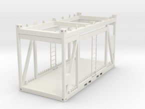 Lifting Frame 1:50 in White Natural Versatile Plastic