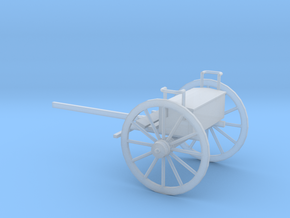1/87 Scale Civil War Artillery Limber in Smooth Fine Detail Plastic