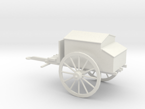 1/48 Scale Civil War Artillery Forge in White Natural Versatile Plastic