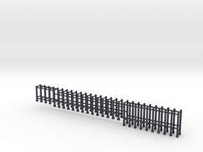 EMD stanchions 35 series  HO plastic in Black Professional Plastic