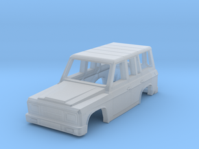 ARO 244 Body of Romanian SUV Scale 1:160 in Smooth Fine Detail Plastic