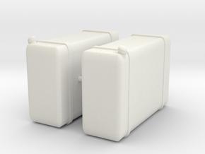 Custom Peter Weimer Steps in White Natural Versatile Plastic