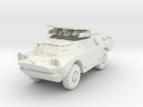 BRDM 2 Sagger (open) scale 1/87 in White Natural Versatile Plastic