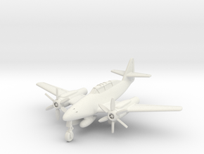(1:144) Messerschmitt Me 262 B2 Turboprop in White Natural Versatile Plastic
