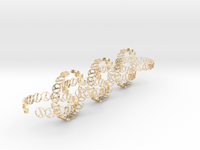 seven size 6 18.11 mm rings in 14K Yellow Gold