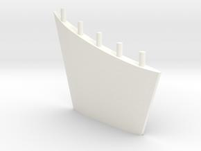 1:50 Fin BUGSIER 19, 20, 21, STELLA, WILHELMSHAVEN in White Processed Versatile Plastic