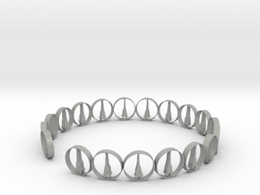 six size ring 18.11 mm (1) in Aluminum