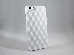iPhone 6 Plus DIY Case - Hedrona in White Processed Versatile Plastic