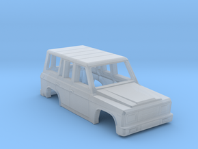 Aro 244 Body of Romanian SUV Scale 1:87 in Smooth Fine Detail Plastic