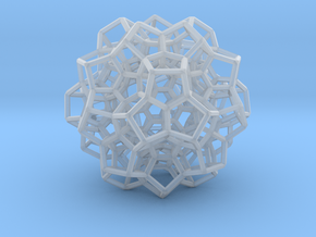 120-cell, equator layer in Smooth Fine Detail Plastic