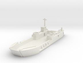 1/300 Scale LCT6 in White Natural Versatile Plastic