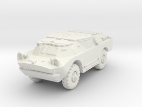 BRDM 2 Sagger (closed) scale 1/100 in White Natural Versatile Plastic
