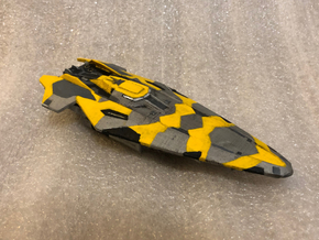 Anaconda: Elite Dangerous in White Natural Versatile Plastic: 1:1000