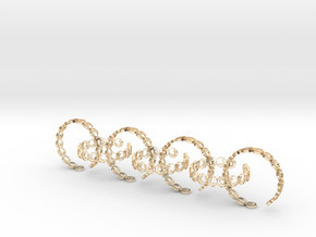 seven size 6 18.11 mm rings (1) in 14K Yellow Gold