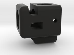 Deranged compensator for Glock 19 in Black Natural Versatile Plastic