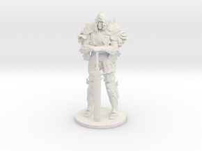 Darkwraith Dark Souls miniature fantasy games rpg in White Natural Versatile Plastic