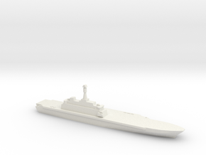 Project 10200 Helicopter Carrier, 1/700 in White Natural Versatile Plastic