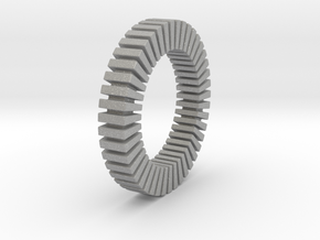 Patrick Tetragon Bracelet in Aluminum