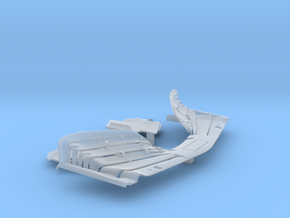 1/20 SF71H extra conversion parts: front wing, rea in Smooth Fine Detail Plastic