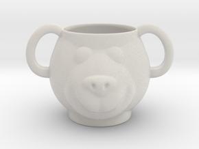 Bear Decorative Mug (downloadable) in Matte Full Color Sandstone