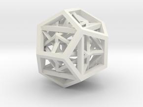 27mm geometron gmtrx in White Natural Versatile Plastic