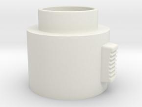 Switch Activator in White Natural Versatile Plastic