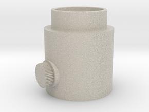 Knob Activator in Natural Sandstone