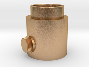 Knob Activator in Natural Bronze