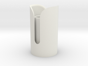 Snips Emitter in White Natural Versatile Plastic