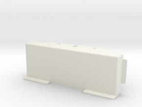 SPRC CUSTOMS Battery Tray Part 2 for BRX01 in White Natural Versatile Plastic