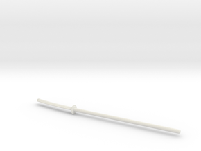 Naginata for ModiBot in White Natural Versatile Plastic