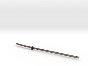 Naginata for ModiBot in Polished Bronzed-Silver Steel