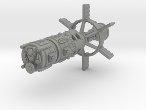 Earther Heavy Cruiser in Gray Professional Plastic