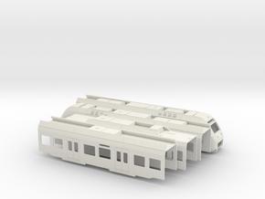 Sprinter Lighttrain (H0) in White Natural Versatile Plastic