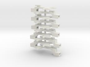 #00P Ersatz fuer KK-Kinematik Roco 4604 & 4655 in White Natural Versatile Plastic