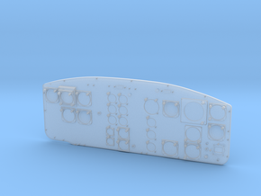 Vario UH-1 Instrument Panel 1/7 in Smooth Fine Detail Plastic