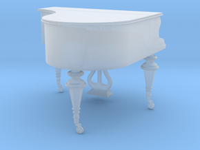 1/35th scale Piano in Smooth Fine Detail Plastic