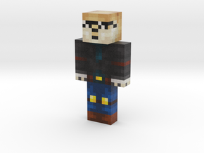 Dantem reshaded | Minecraft toy in Natural Full Color Sandstone