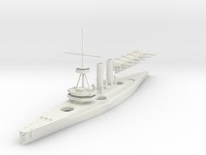 1/700 Monarch-Class Dreadnought in White Natural Versatile Plastic