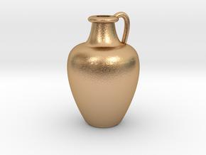 1/12 Scale Vase in Natural Bronze