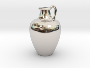 1/12 Scale Vase in Platinum