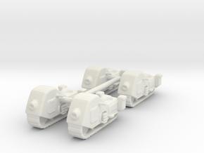Schneekrad military concept 1:87 in White Natural Versatile Plastic