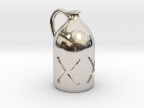 1/12 Liquor Bottle in Platinum