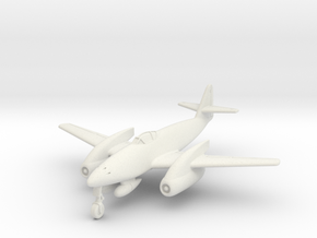(1:144) Messerschmitt Me 262 Langrumpf in White Natural Versatile Plastic
