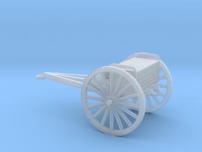 1/100 Scale 3 Inch Gun Caisson M1916 in Smooth Fine Detail Plastic