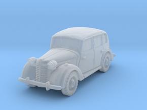 austin 10 staffcar scale 1/56 in Smooth Fine Detail Plastic