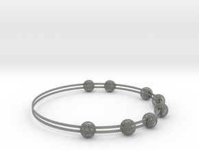voronoi bracelet (1) in Gray PA12