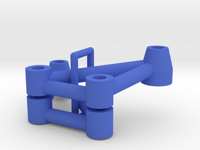 Thundershot Tubular Nylon C4, C6 parts in Blue Processed Versatile Plastic